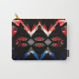 Shifted Red, White, & Blue Carry-All Pouch