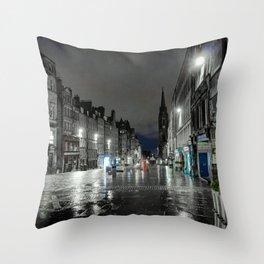 Mainstreet Edinburgh Throw Pillow