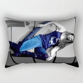 Rock and Roll Meeting Rectangular Pillow