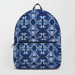 Ultra Elegant Ornamental Feng Shui Psychedelic Micro Pattern Backpack