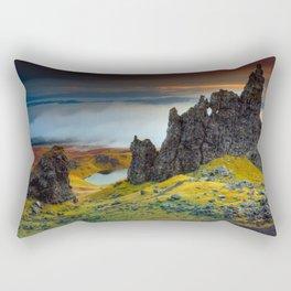 Rock falaise Ecosse Rectangular Pillow