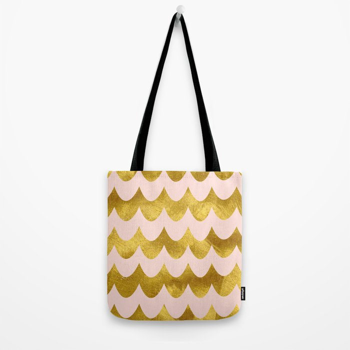 Pink Gold Foil 04 Tote Bag
