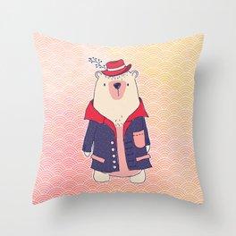 Lazy Days Throw Pillow