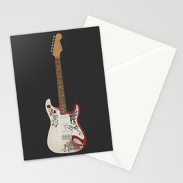 Monterey Stratocaster Stationery Cards