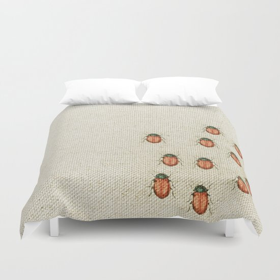 "Coletivo ""Besouros"" Duvet Cover"