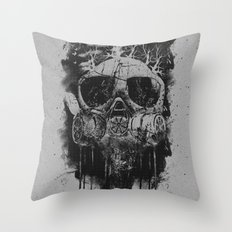 Suffocate Throw Pillow