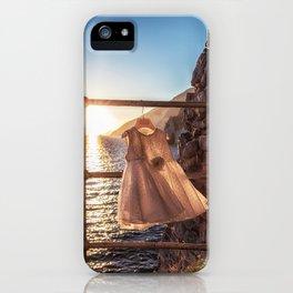 Delicate Sunset in Portovenere iPhone Case