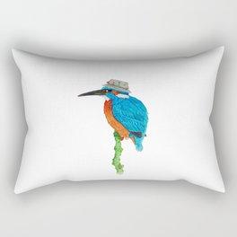 The Kingfisher Rectangular Pillow