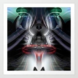 Darth Infinity Vader Art Print