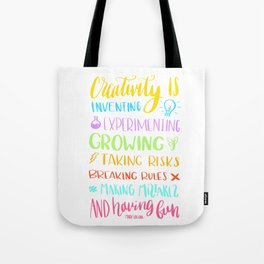 creativity is Tote Bag
