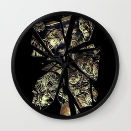 Maniacs Wall Clock