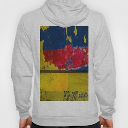 Blue, Red and Yellow Hoody