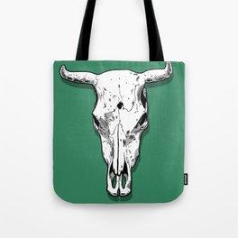 Longhorn skull Tote Bag