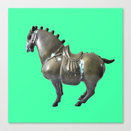 Mongolian War Horse Canvas Print