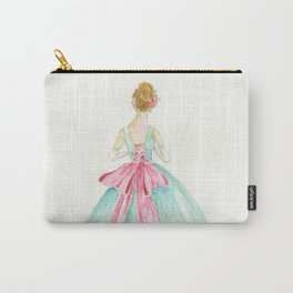 Big Pink Bow Carry-All Pouch
