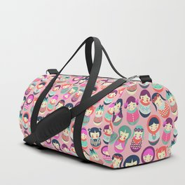 Babushka Russian doll pattern Duffle Bag