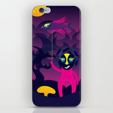 Night of the forest spirit iPhone Skin