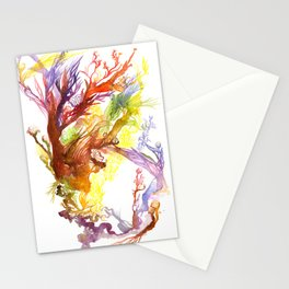 Volcanic Tango Stationery Cards