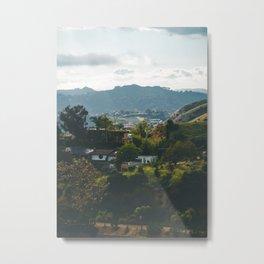 Hollywood Hills Metal Print