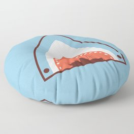 Great White Attack Floor Pillow