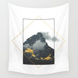 Mountain of Gold Wall Tapestry