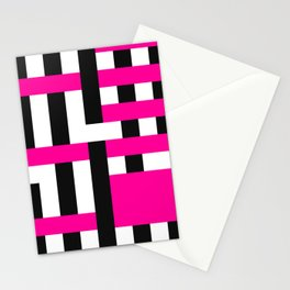 Licorice Bytes, No.18 in Black and Pink Stationery Cards