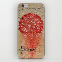 japan iPhone & iPod Skins featuring Japan by Japan Art