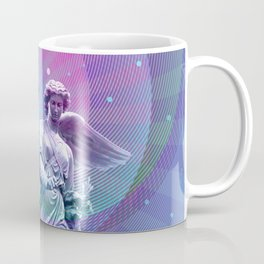 Angel Moon Coffee Mug