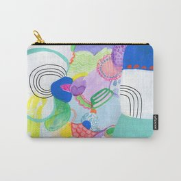 Pastel Bumps Carry-All Pouch