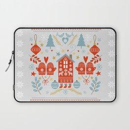 Laplander Winter Holiday Laptop Sleeve