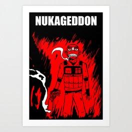 Nukageddon Niko Art Print
