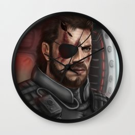 MGS Big Boss Wall Clock