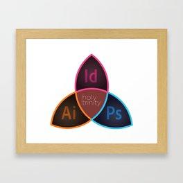 Holy Trinity CC Framed Art Print