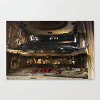 theater Canvas Prints featuring Theater  by Stephen Wilbert Photography
