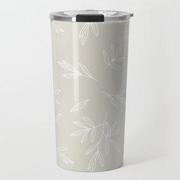 Branched Olives Sketch Travel Mug