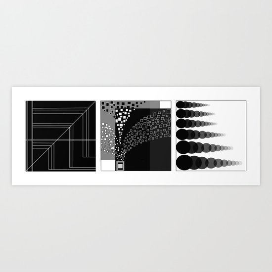 Points, Lines and Planes Art Print