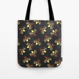 Scattered Glowing Fireflies at Night Tote Bag