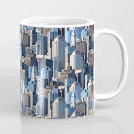 Boston Massachusetts Skyline Pattern Coffee Mug