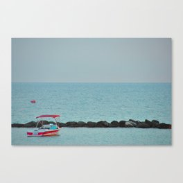 Between Sea and Sky Canvas Print