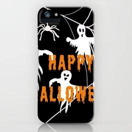 Monsters Happy Halloween iPhone Case