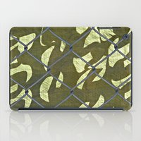 camouflage iPad Cases featuring Camouflage  by Ethna Gillespie