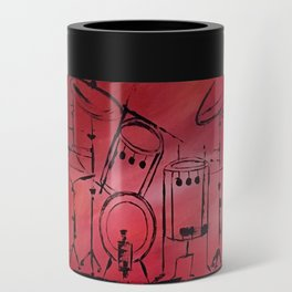 Music, Drummer, Drums, Orignal Artwork By Jodi Tomer. Rock and Roll Drums Can Cooler
