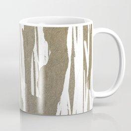 Abstract Taupe Splash Design Coffee Mug
