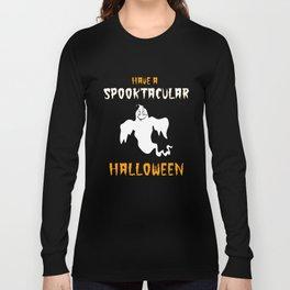 Spooktacular Halloween Long Sleeve T-shirt