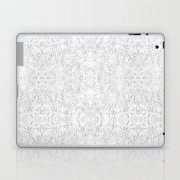 White Lace Laptop & iPad Skin