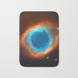 Eye Of God - Helix Nebula Bath Mat