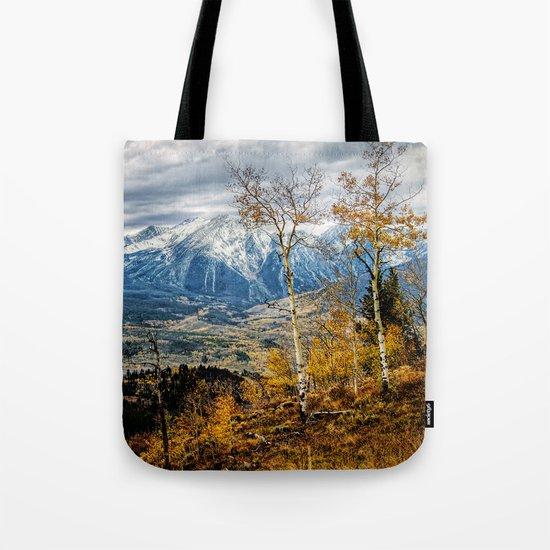Colorado Autumn Tote Bag