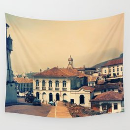 Ouro Preto vintage Wall Tapestry