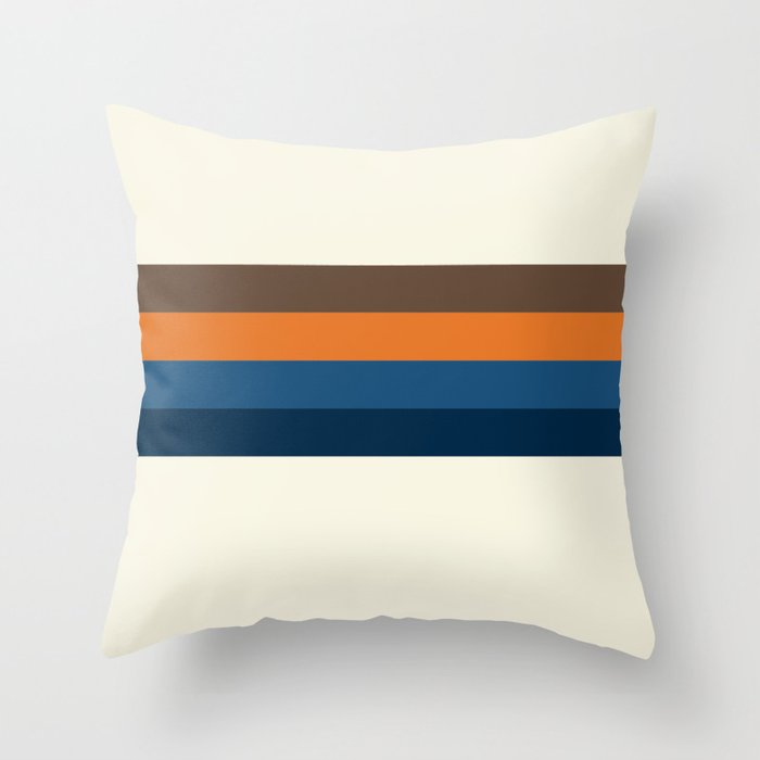 70's Basement Throw Pillow By Mattbeechey