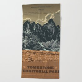 Tombstone Territorial Park Beach Towel